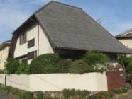 屋根塗装工事、外塀工事