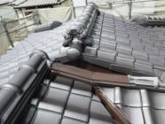 屋根塗装工事、漆喰工事