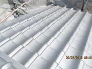 漆喰打替工事、屋根塗装工事