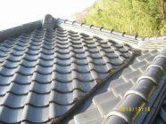 屋根塗装工事、しっくい工事