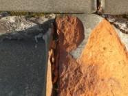 屋根瓦破損