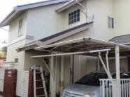 屋根塗装工事、鉄部塗装工事
