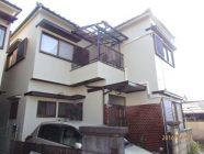 外壁塗装工事、屋根漆喰工事