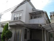 外壁塗装工事前、屋根塗装工事前