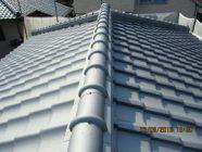 屋根塗装工事、漆喰打替工事