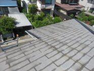 屋根塗装工事前