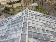 屋根塗装、漆喰打替工事前