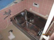 洗面、浴室改装工事前