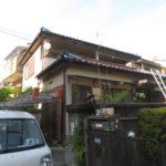 外壁塗装 施工前 茨木市