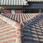 屋根 塗装前 八幡市