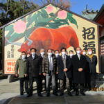 片山神社にて