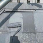 兵庫県西宮市 屋根塗装・上塗り2回目