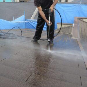 大阪府吹田市 屋根塗装・高圧洗浄